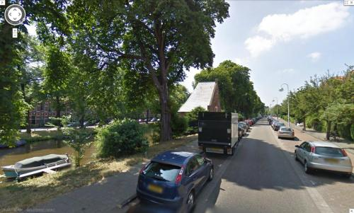 Jan van Houtkade in Google Maps Streetview