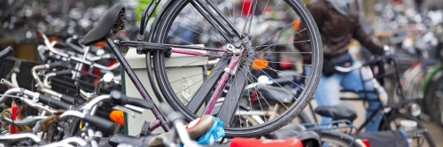 Fiets fout is fiets weg