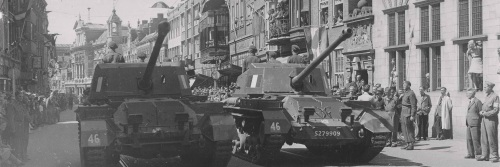 Tanks in de Breestraat