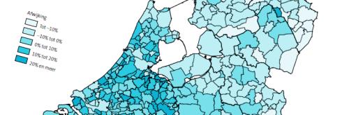Inkomensverschillen per gemeente