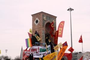 1 mei protest