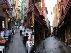 Voor en na Istanbul