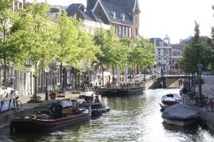 Uitzicht Leiden