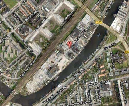 amphoraweg leiden - Google Maps - Google Chrome
