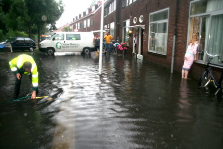 Wateroverlast in de Kooi